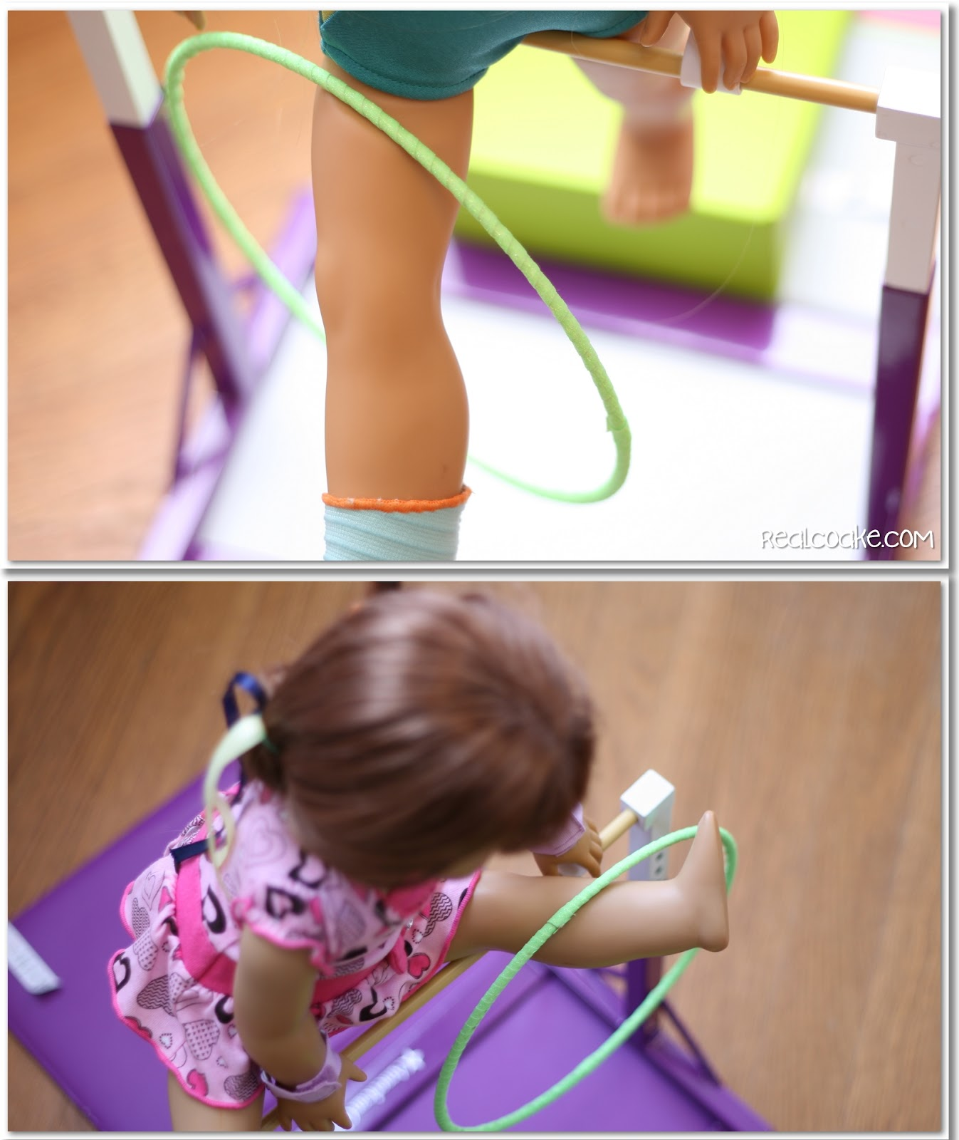 American girl craft to make your own doll gymnastic hoop for American girl crafts diy