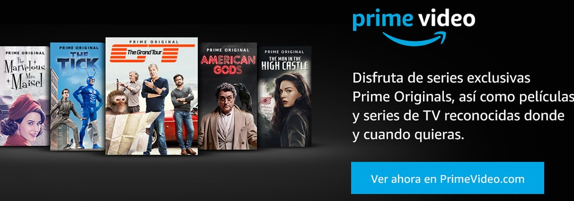 PRIME VIDEO  GRATIS DURANTE 30 DÍAS