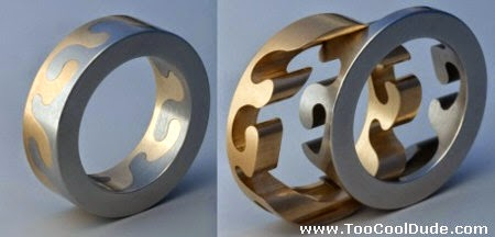 another interlocking ring because your love is puzzling - Interlocking Wedding Rings