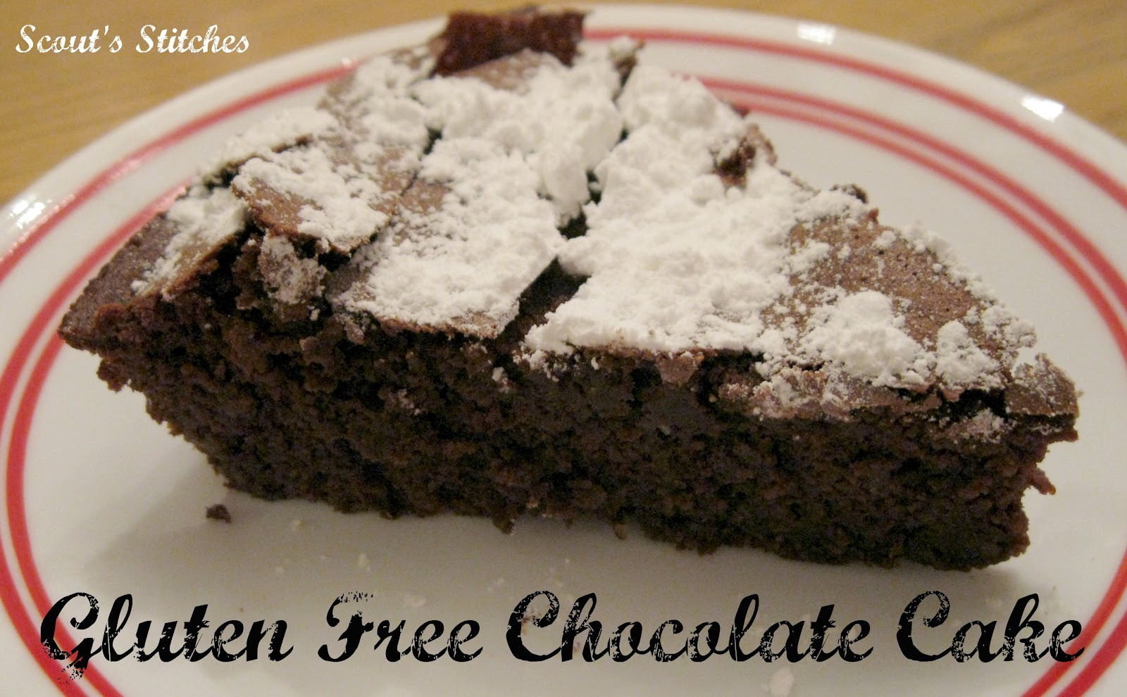 All The Joy: Gluten Free Chocolate Cake- New Food Friday