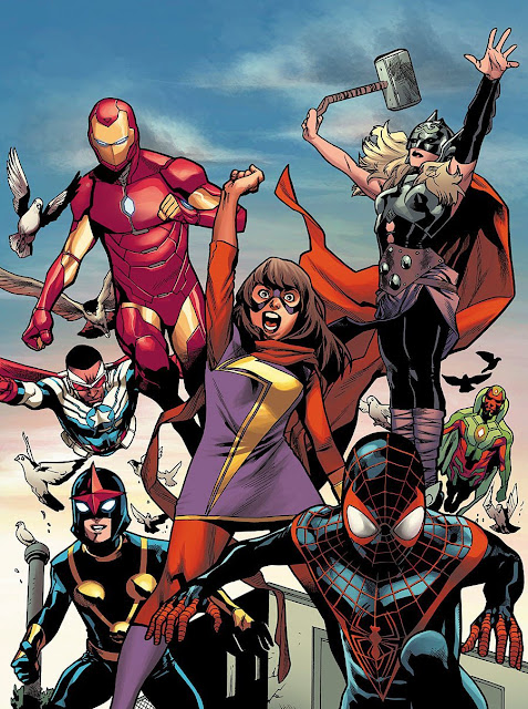 All New All Different Marvel Universe October 2015