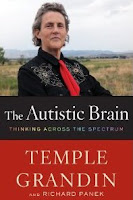 "Book cover: ""The Autistic Brain"" by Temple Grandin"
