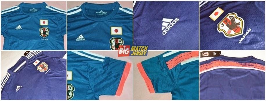 Detail Toko Baju Bola Online Jual Jersey Grade Ori Murah Piala Dunia 2014 Negara Jepang
