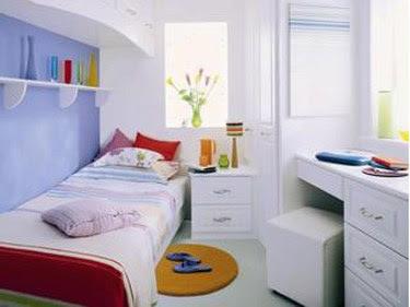 habitación para adolescente poco espacio