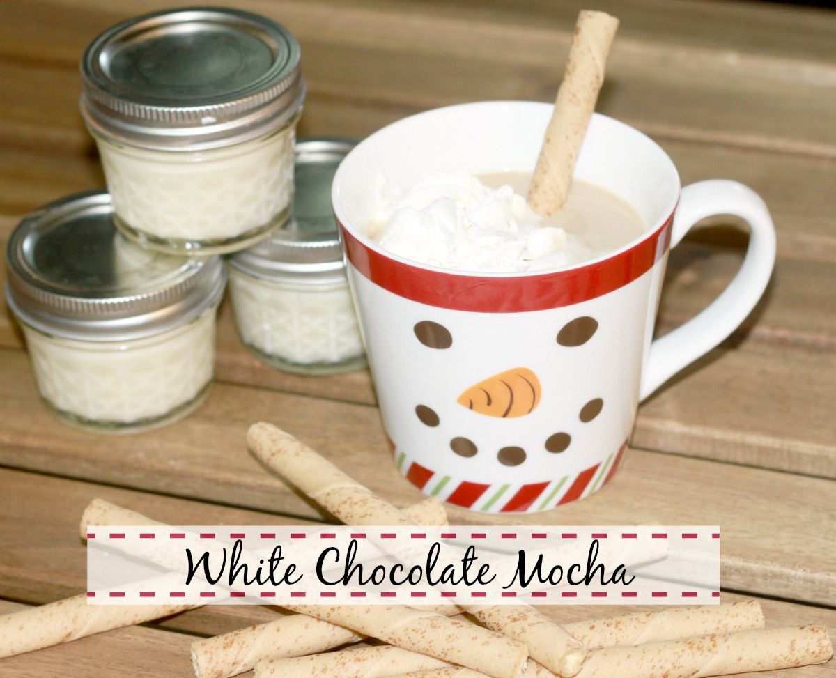 Crazy for Cookies and more: Homemade White Chocolate Mocha