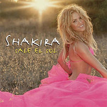 Shakira - Sale El Sol single cover