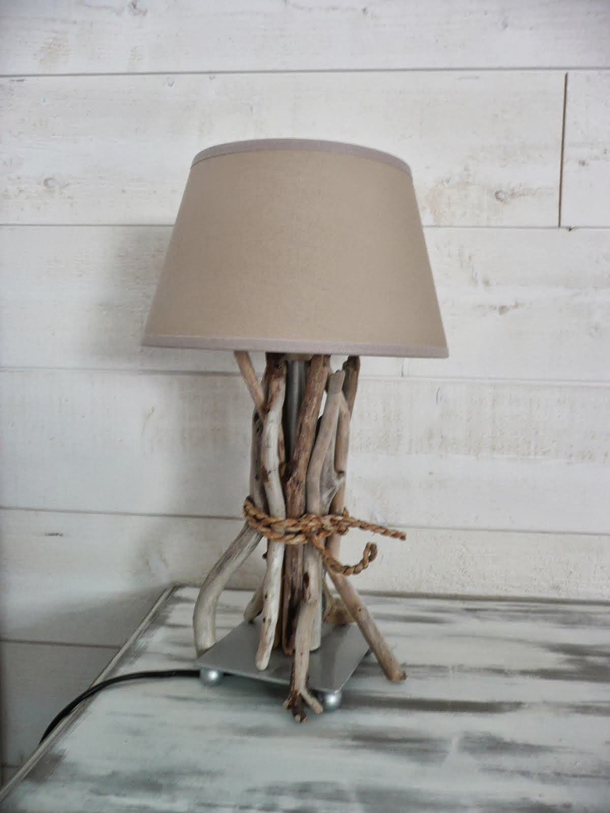 Drift Wood Lamp Ikea Hackers