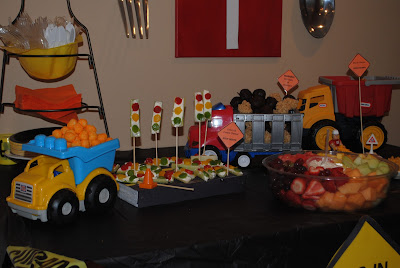 New Mama 39 S Corner Construction Work Zone Birthday Party Theme Ideas LOT