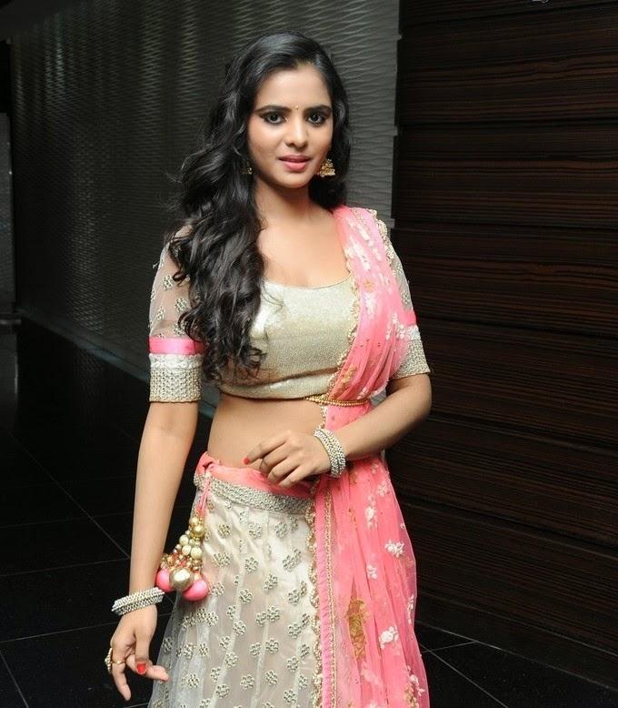 Actress Manasa at Teach For Change Fashion Show