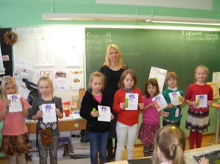 Tublid lastekirjanduspäeva viktoriini lahendajad=)