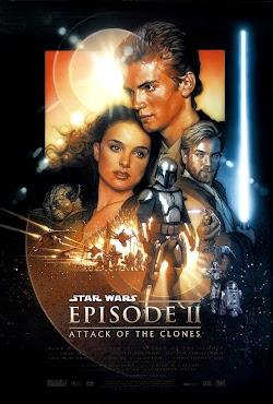 Chiến Tranh Giữa Các Vì Sao 2: Cuộc Tấn Công Của Người Vô Tính - Star Wars 2: Attack Of The Clones (2002) Poster