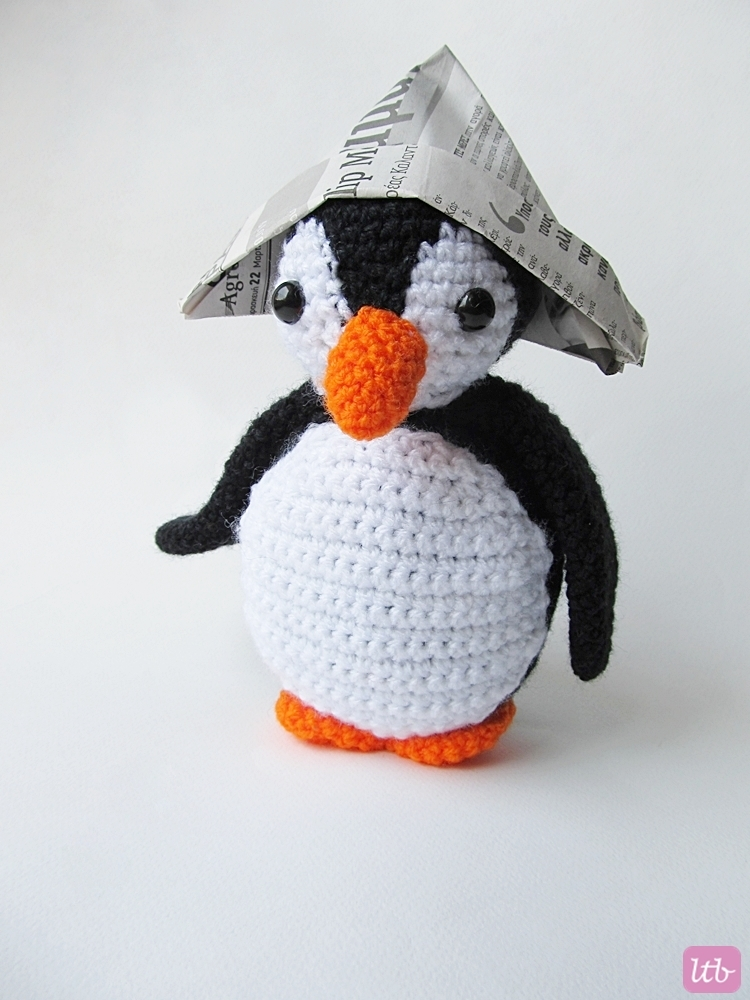 {Amigurumi Oscar the Penguin} - Little Things Blogged