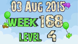 Angry Birds Friends Tournament level 4 Week 168