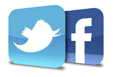Twitter or Facebook image