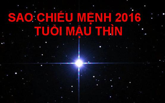 Sao chieu menh 2016 tuoi Mau Thin