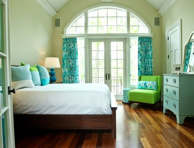 Blue Green Bedroom Ideas
