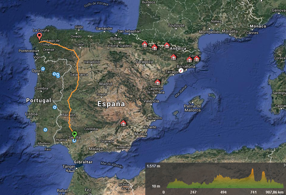 Camino de Santiago - Vía de la plata