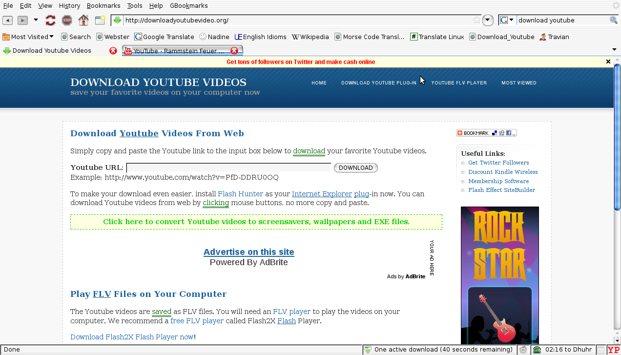 nload youtube videos without software: September 2014How to dow