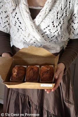 Mini cakes marbrés au chocolat