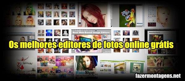 Os melhores editores de fotos online grátis