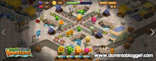Jugar Plants vs Zombies Adventures en facebook