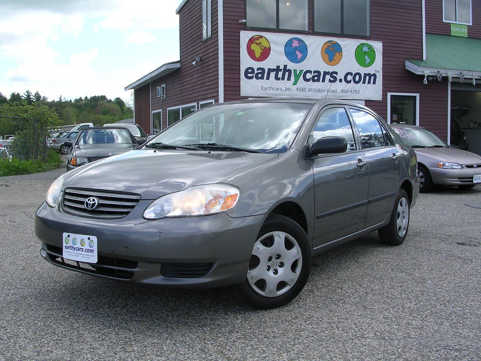 Wonderful EARTHY CAR OF THE WEEK: 2003 Grey Toyota Corolla CE