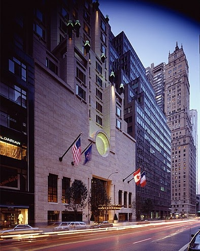The four seasons hotel in new york top best hotels in for Famous hotel in new york