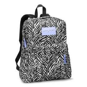 Zebra Mesh Backpack