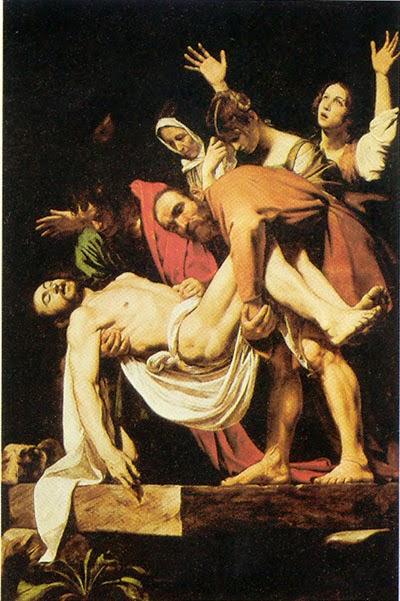 pintura de cristo na cruz