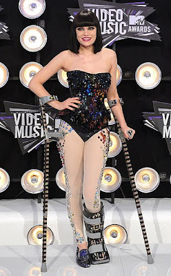 10 Best Fashion at MTV VMA 2011: Jessie J.