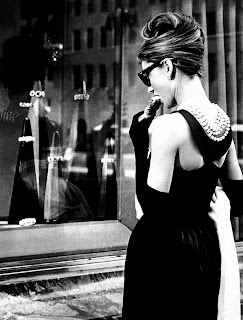 Audrey Hepburn Breakfast At Tiffany's Black Dress