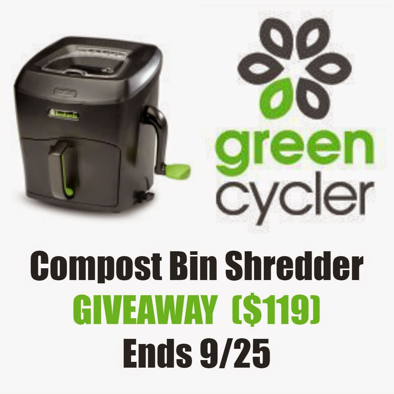 Green Cycler Compost Shredder