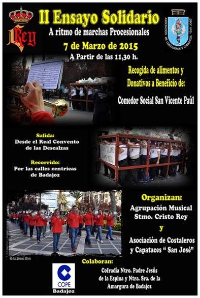 Cartel II Ensayo Solidario