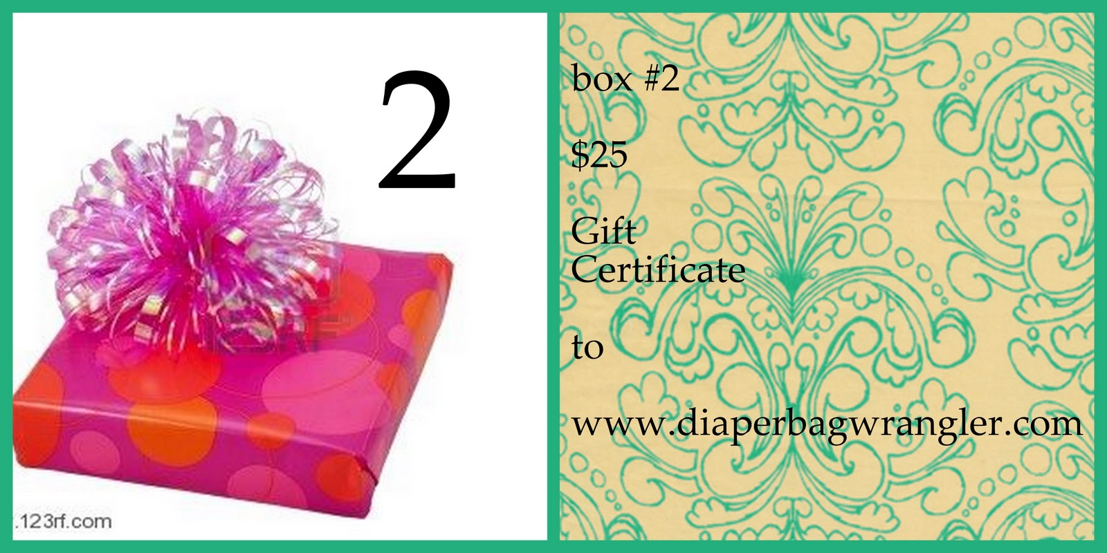 the diaper bag wrangler the birthday gift boxes unveiled