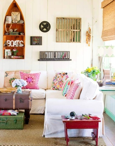 colorful coastal room