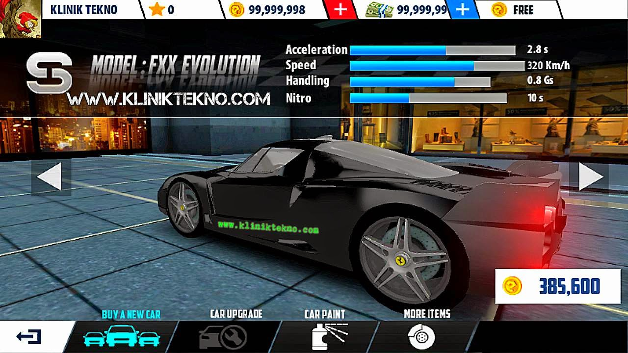 Game King Racing 2 v1.1 Apk Data Mod Unlimited Money
