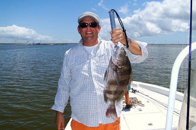 Steve DeHart sheepshead catch