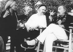 Wolf Vostell y Salvador Dalí en Figueras, 1978  Cortesía: Archivo Happening Vostell-M
