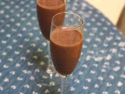 Hot Chocolate Smoothie (Sinh tố Chocolate Nóng)