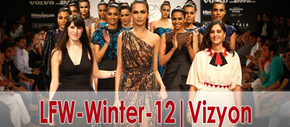 Lakme Fashion Week Winter / Festive 12-13 | Vizyon Collection