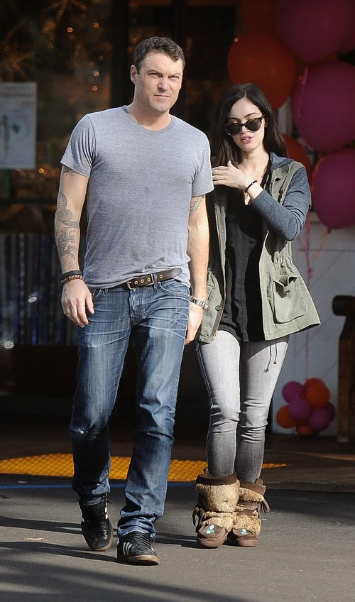 Car accident in Beverly Hills | Drunkenness: Megan Fox & Brian man approached