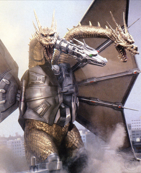 Godzilla Vs Mecha King Ghidorah Kaiju Battle: CREATURE...
