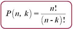 permutasi n unsur apabila disusun dalam k unsur