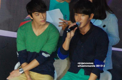 Siwon and Donghae in Manila