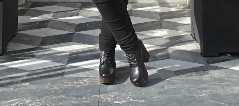 Topshop Hop Lace Up Ankle Boots
