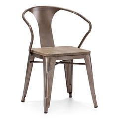 rustic brown chair