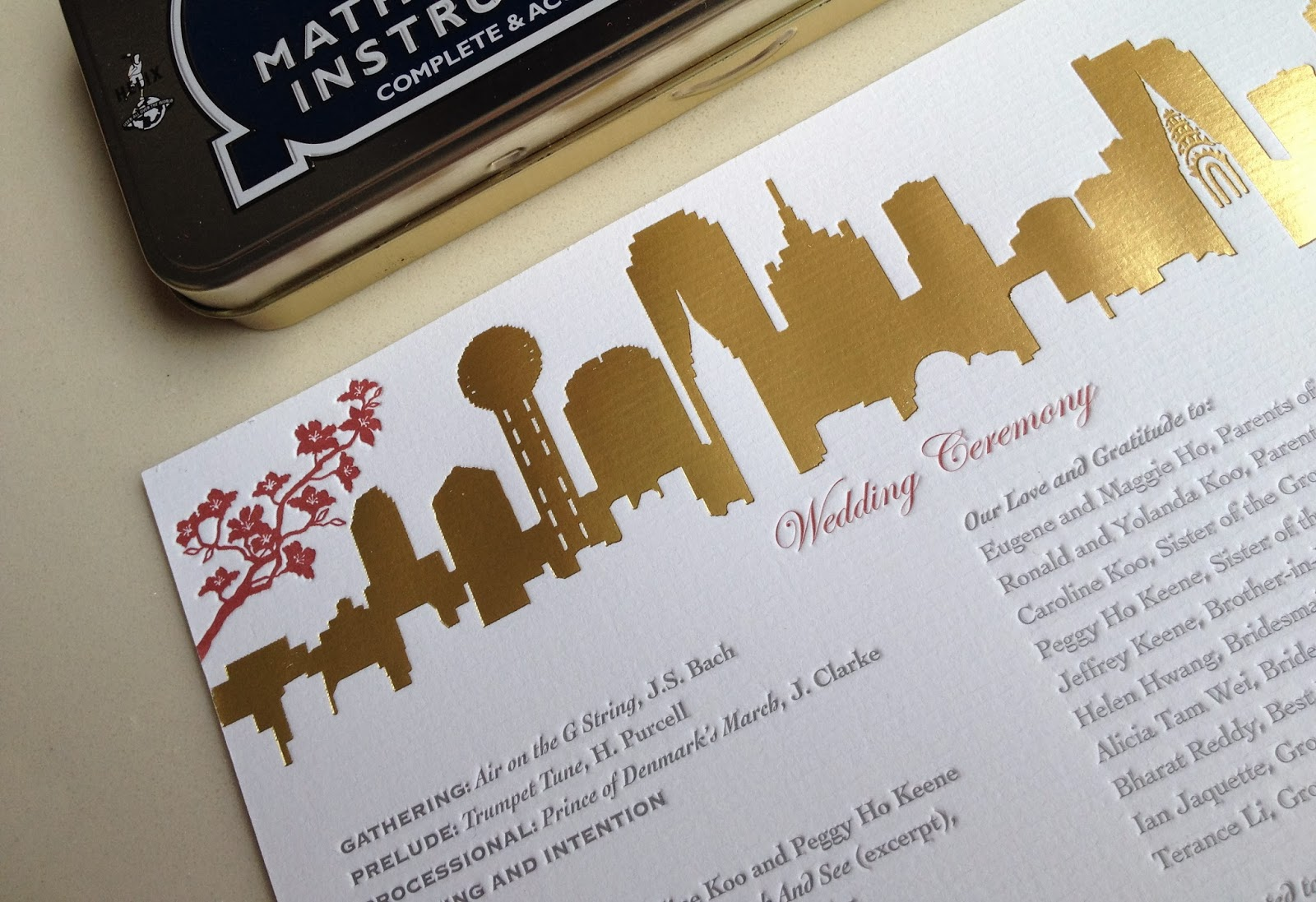 Kalo make art bespoke wedding invitation designs skyline lover kalo make art bespoke wedding invitation designs skyline lover new york and dallas for hong kong couple in house wedding invitation design stopboris Choice Image