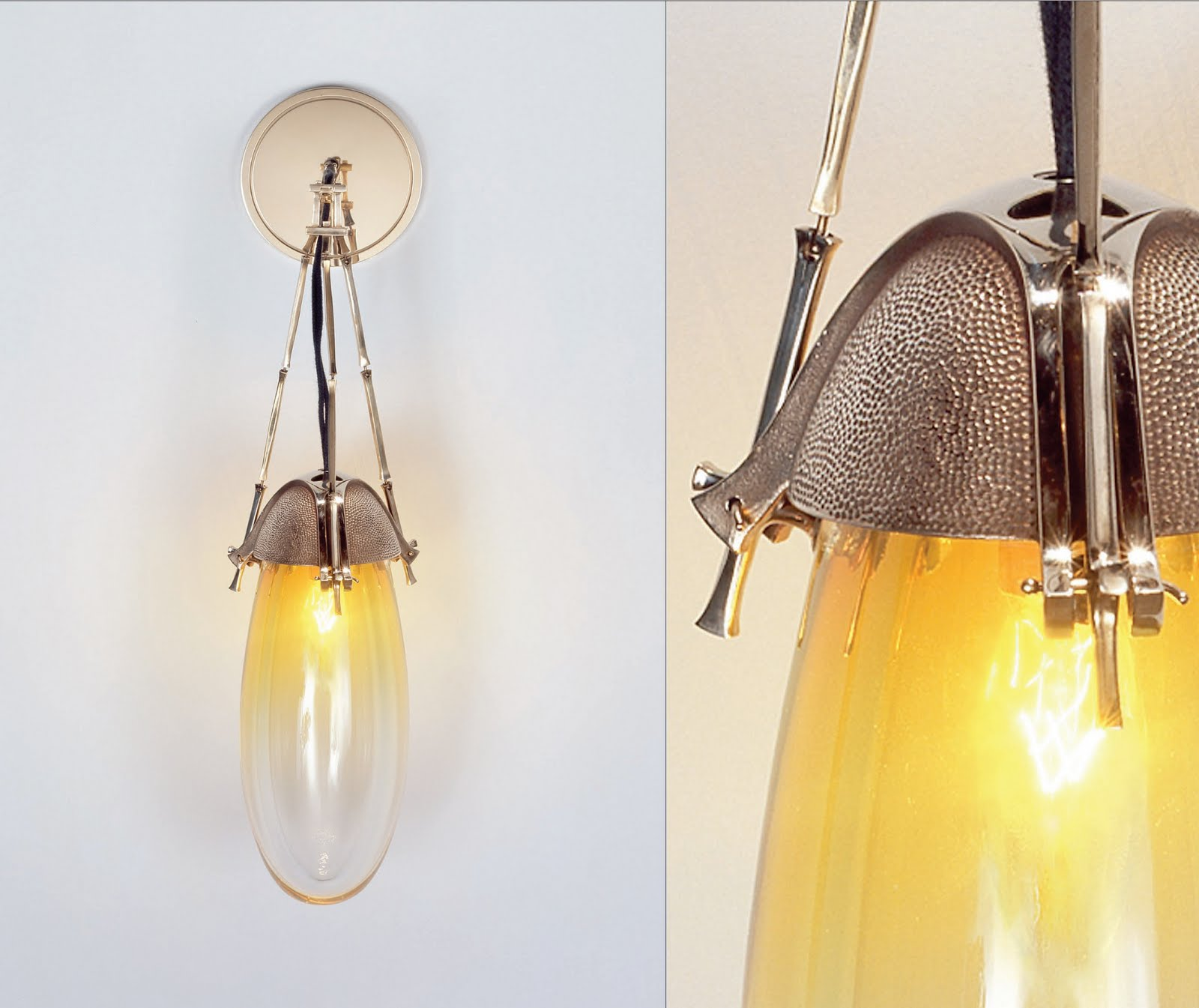 jonathan browning lighting. Jonathan Browning Lighting. His Particuliere Sconce - I Love The Glass On This Piece. Lighting