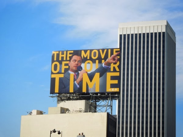 Movie of our Time Leonardo DiCaprio billboard