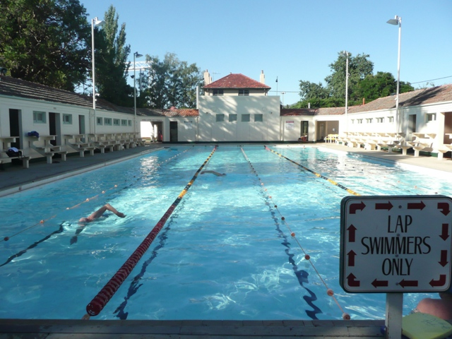 Swimming Pool Stories A Final Tune From Tav The Music Man At Manuka Pool